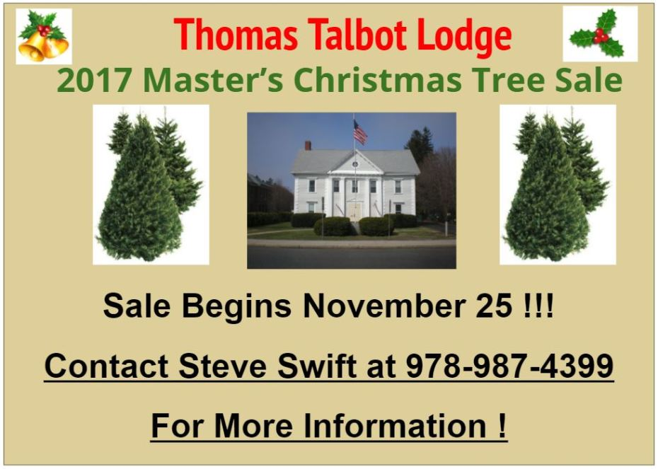Christmas Tree Sale Flyer